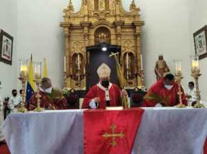 Falcón started Holy Week with the remote blessing of the palms