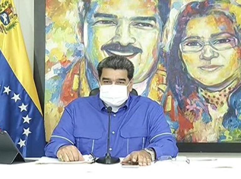 Maduro decreta cerco sanitario para la Región Capital y el estado Bolívar