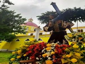 El Nazareno recorrió las calles y centros de salud en Anzoátegui