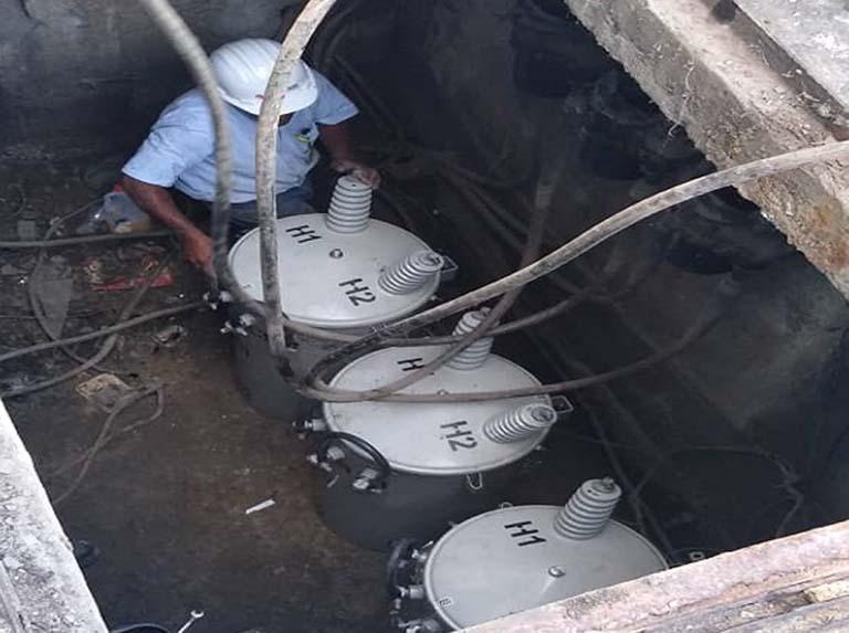 Corpoelec instala 3 nuevos transformadores en la Gran Caracas