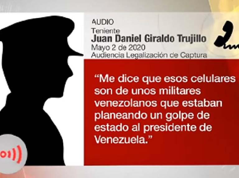 Colombia sabía de planes contra Venezuela, según testimonios de un militar colombiano