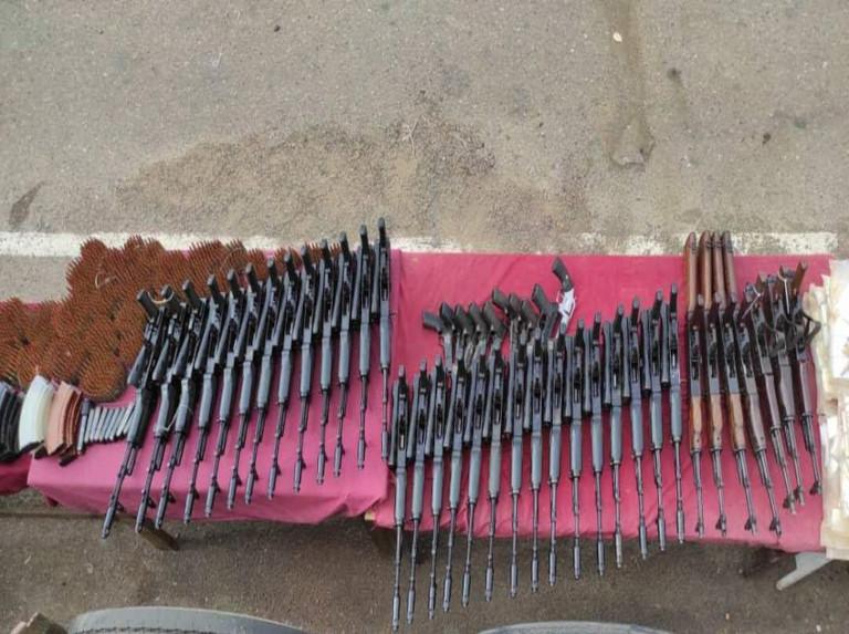 Incautan arsenal de guerra en Guárico