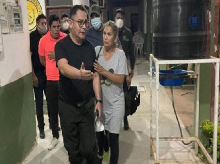 Capturan a expresidenta de facto Áñez vinculada a golpe de Estado