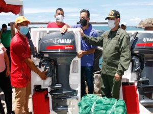 They grant credits to 214 fishermen in the state of Nueva Esparta