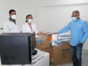 Entregaron equipos al Hospital General Guatire Guarenas