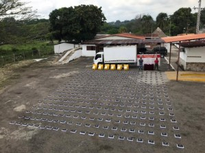 GNB seized 400 packs of cocaine in Táchira