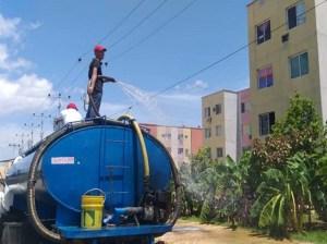 Suman 114 las jornadas de desinfección en urbanismos de la GMVV
