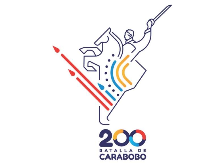 Así es el logo de los 200 años de la Batalla de Carabobo