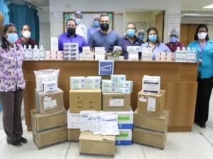 Three hospitals in Anzoátegui are repowering with medical supplies