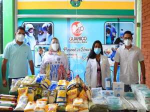 Dining program in the hospital of the Guarican capital is strengthened