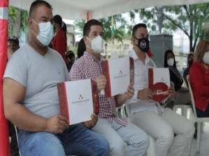 They provide productive credits to Aragüeño merchants