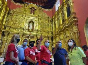 Inician rehabilitación y mejoras de espacios en Iglesia La Candelaria