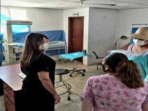 Inspeccionan hospitales y Pasi en el municipio Guajira