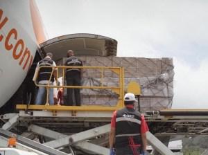 Llega a Venezuela décimo tercer cargamento de insumos desde China