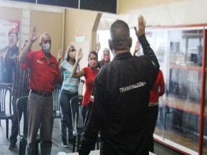 Transport user committees are sworn in in Coro