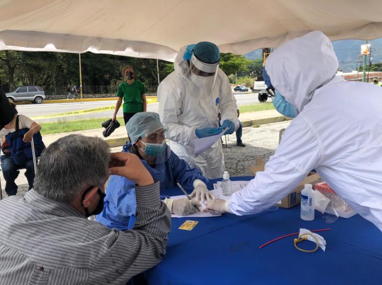 Venezuela llega al pico más alto de nuevos contagios con 1.607 casos