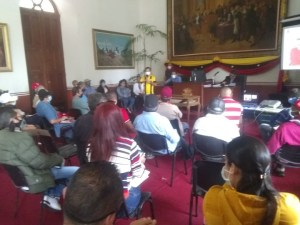 In Táchira they will work to improve the transportation system