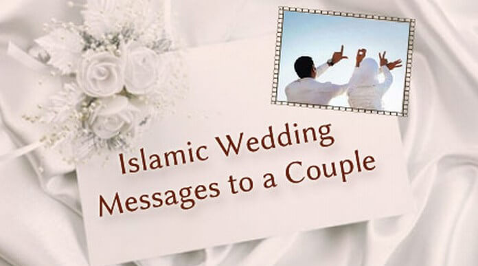 As marriage/wedding is to the english, shaadi to hindi, nikah is to urdu and used by the muslims. Islamic Wedding Messages To A Couple Ultima Status