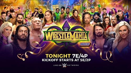 WWE Wrestlemania (34) du 8 avril 2018 en VF