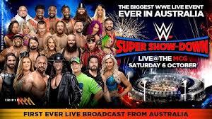 WWE Super Show-Down du Samedi 06 Octobre 2018 en VF
