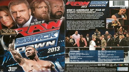 WWE The Best Of Raw and Smackdown 2013 Coffret 3 DVD en VF