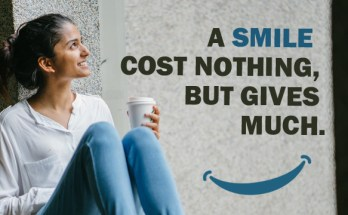 Smile Quotes thoughts