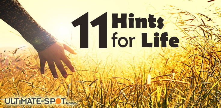 Eleven Hints for Life