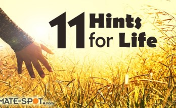 11 Hints for life