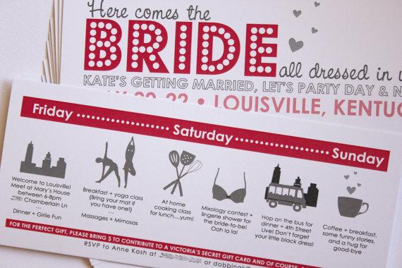 bachelorette party invitations Archives Ultimate Bridesmaid – Bachelorette Party Weekend Invitations