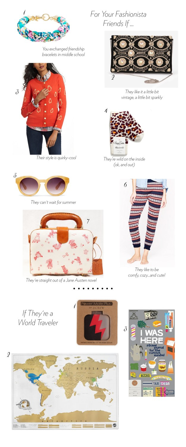 fashion and travel ultimate bridesmaid gift guide