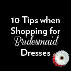 10 tips when shopping for bridesmaid dresses