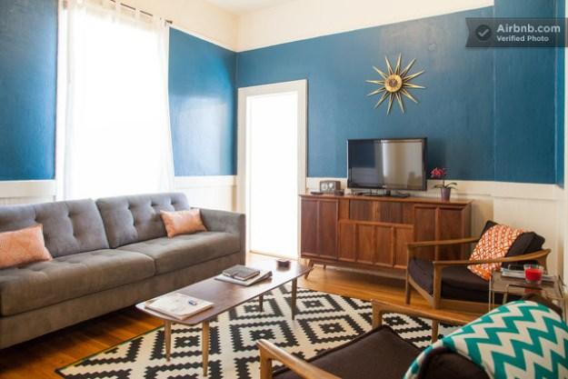 mission apartment on airbnb