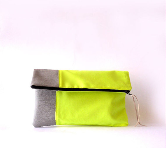 neon clutch | Etsy Bridesmaid Gifts Under $30 | Ultimate Bridesmaid