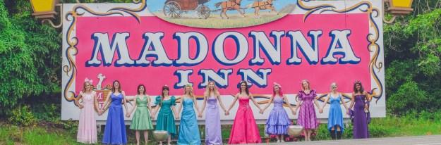 a madonna inn bachelorette party