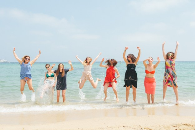 A Breezy, Beachy Bachelorette in Provence | Ultimate Bridesmaid | Studio A+Q