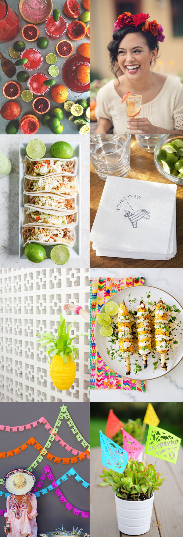 Fiesta bridal shower inspiration