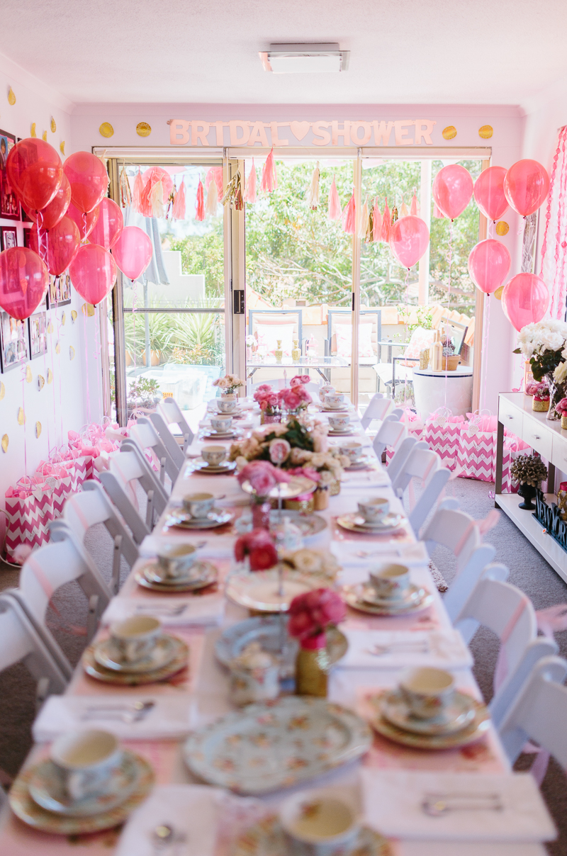 a glittering pink high tea shower ultimate bridesmaid ducky jessica photography