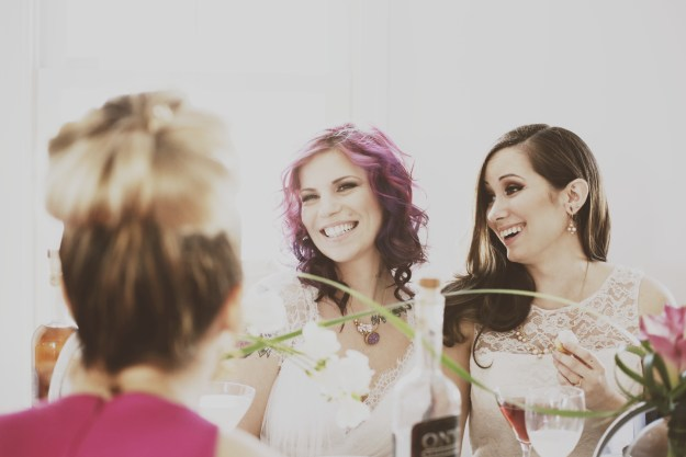 An Urban Chic Same-Sex Bridal Shower | Ultimate Bridesmaid | Laura Dee Photography
