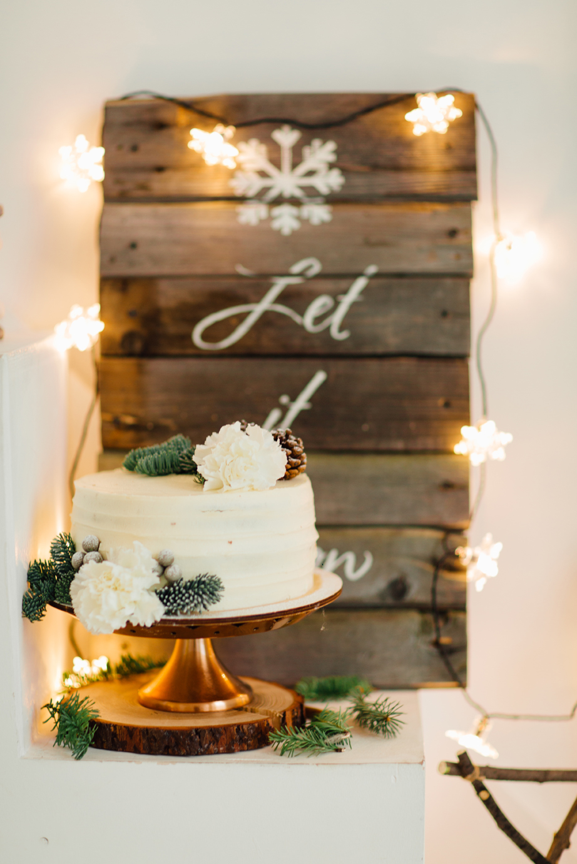 A Winter Wonderland Bridal Shower