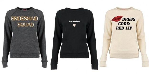 Ultimate Bridesmaid Bow and Drape sweatshirt designs
