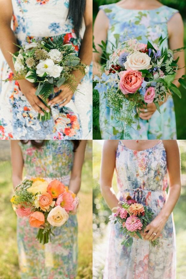 frock + flower floral prints