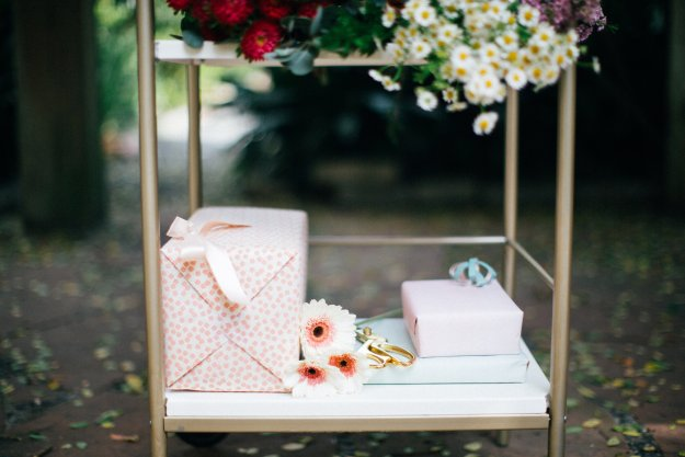 A Midcentury Modern Garden Party Shower | Ultimate Bridesmaid | Ashley Eubanks Photography
