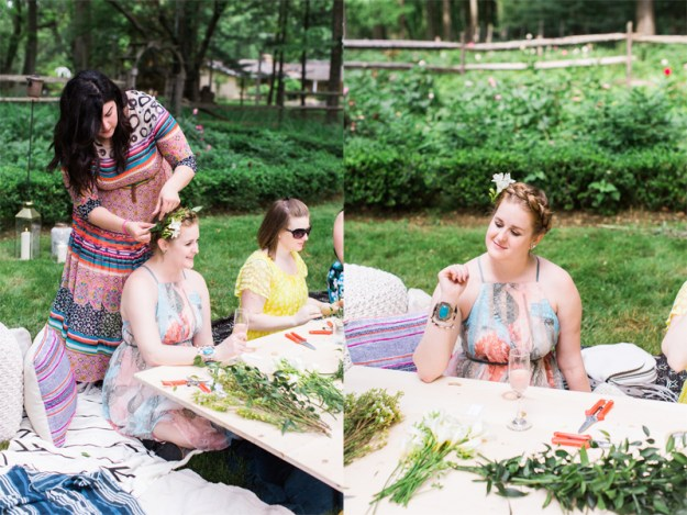 A Peony Perfection Bohemian Bridal Shower | Ultimate Bridesmaid | Chelo Keys Photography