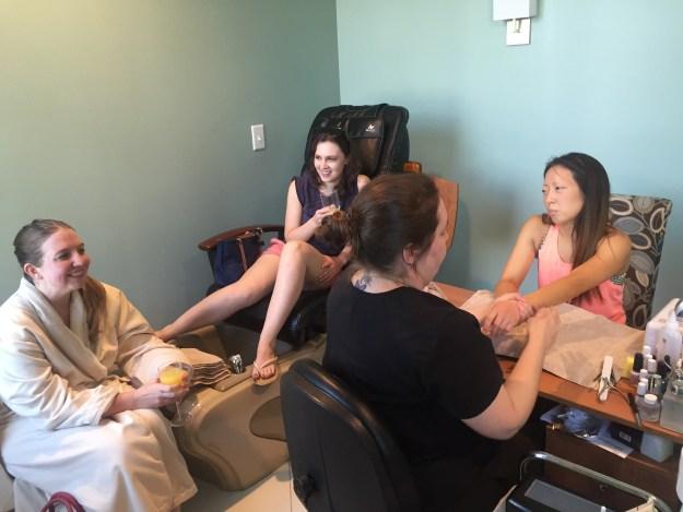 A Spa Day Bachelorette in North Carolina   Ultimate Bridesmaid