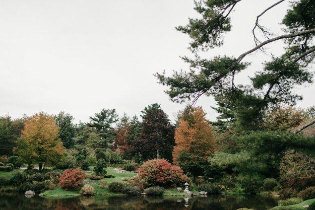 Asticou Azalea Gardens | Our Northeast Charm Wedding in Maine | Ultimate Bridesmaid | Brett & Jessica Photography