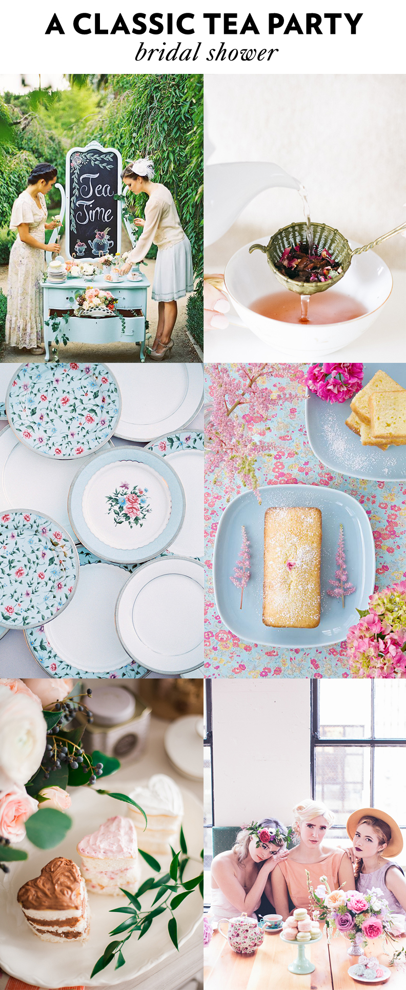 4 Tea Party Bridal Shower Themes - Ultimate Bridesmaid