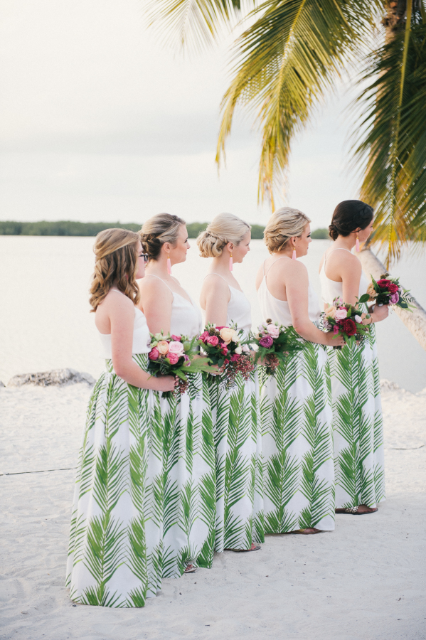 Patterned Skirts. The Best Bridesmaid Looks: Our 10 Favorite Bridesmaid Trends This Year
