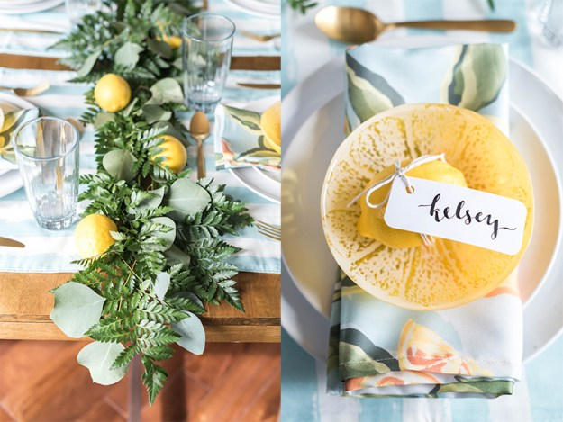 A Cheerful Citrus Bridal Brunch | Ultimate Bridesmaid | Kelsey Nelson Photography