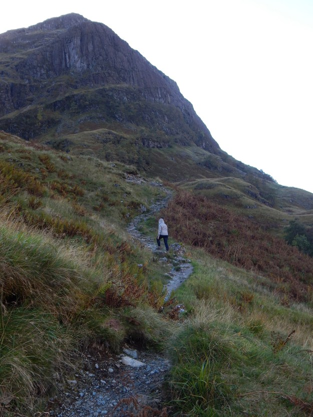 Hiking near Glencoe. Our Honeymoon in Scotland | Ultimate Bridesmaid