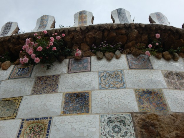 Park Guell in Barcelona. We started our 10-day honeymoon in Spain with three days in Barcelona. Click for our full itinerary and recommendations!